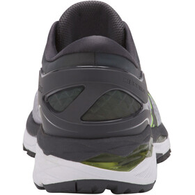 asics Gel-Kayano 24 Lite-Show Shoes Men Mid Grey/Dark Grey/Safety Yellow